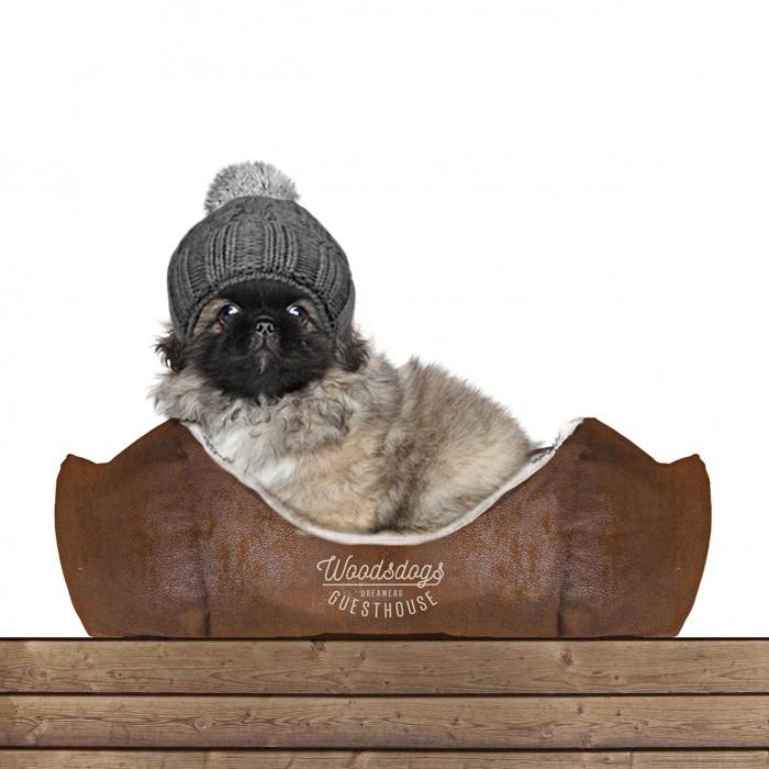 Couchage pour chien - Sofa hexagonal Woodsdogs pour chiens