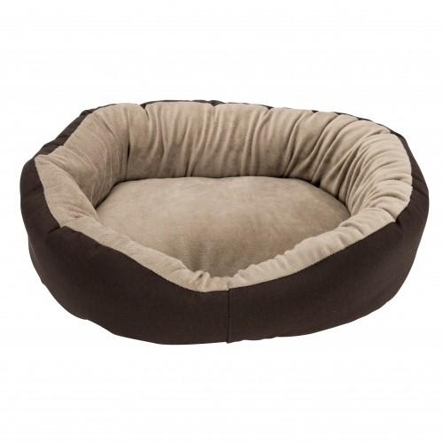 Couchage pour chien - Corbeille ovale ouatine Mink pour chiens
