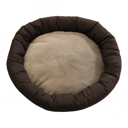 Couchage pour chien - Panier Donut Mink pour chiens