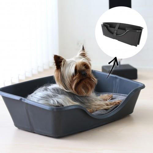 Couchage pour chien - Corbeille pliable et coussin Wonderfold pour chiens