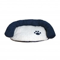 Couchage pour chien - Panier Luxury Navy Cosy