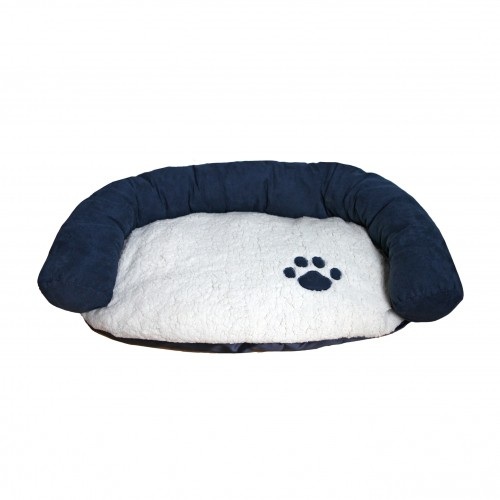 Couchage pour chien - Panier Luxury Navy Cosy pour chiens