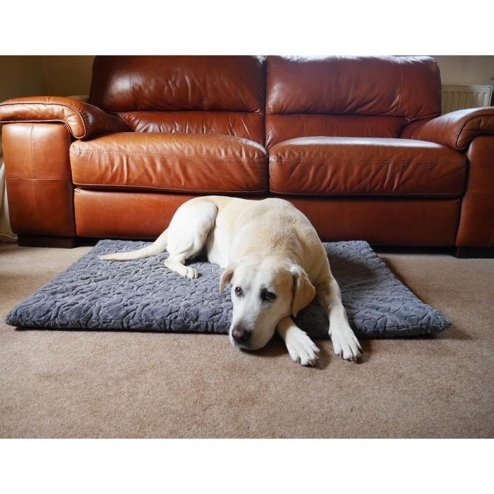 Couchage pour chien - Tapis orthopédique Os pour chiens