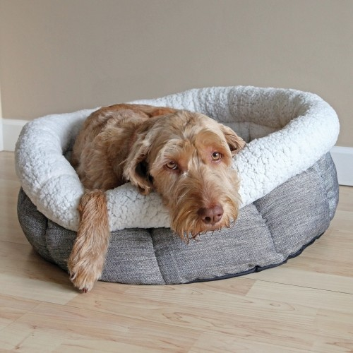 Couchage pour chien - Corbeille ronde Teddy Bear pour chiens