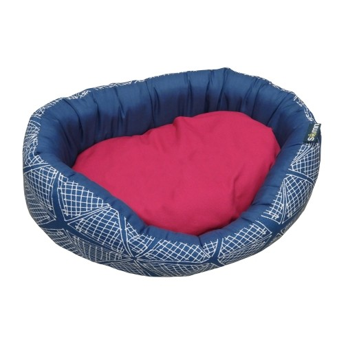 Couchage pour chien - Corbeille Pink Spider pour chiens