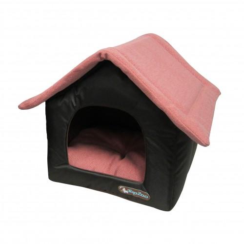 Niche canvas maison niche pour chien topzoo wanimo for Alimentation maison pour chien