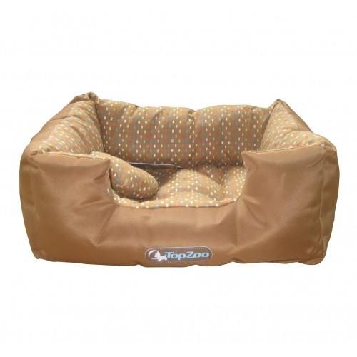 Couchage pour chien - Corbeille Confettis - Chocolat pour chiens