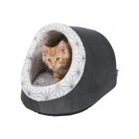 Dôme et maison pour chat et petit chien - Abri douillet Diamond Trixie