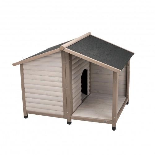 Couchage pour chien - Niche Lodge Natura pour chiens