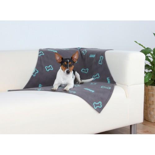Couchage pour chien - Couverture Beany Os pour chiens