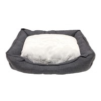 Corbeille pour chien et chat - Corbeille Cosy Life Dark Grey