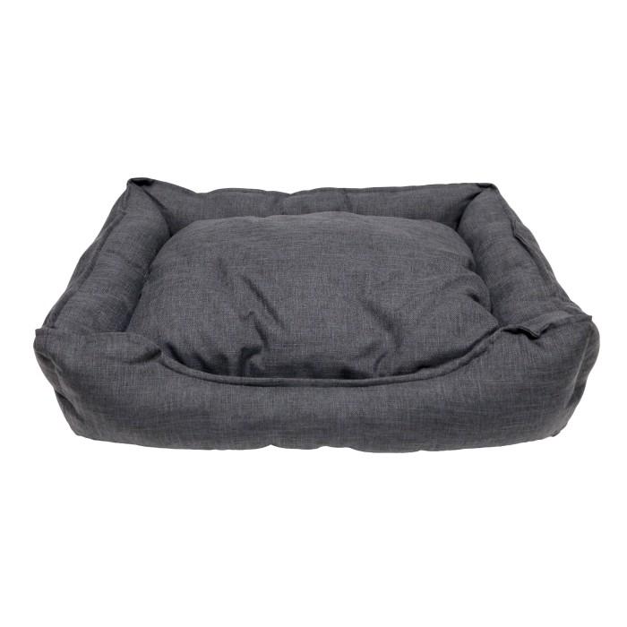 Couchage pour chien - Corbeille Cosy Life Dark Grey pour chiens