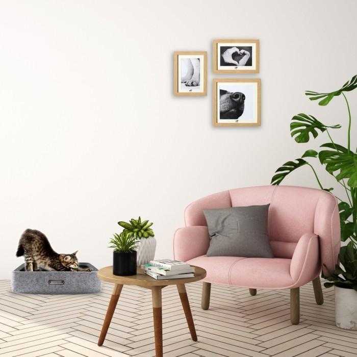 Couchage pour chien - Corbeille Feutrine pour chiens