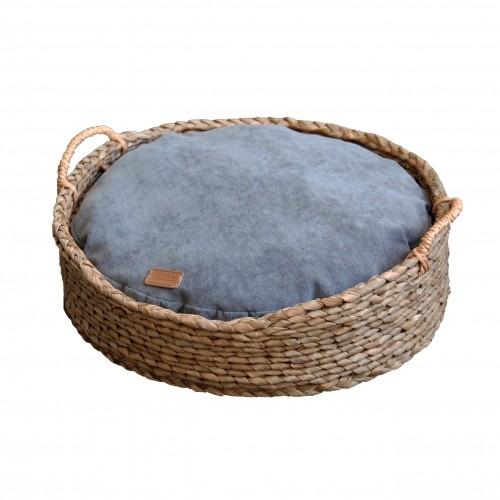 Couchage pour chien - Corbeille en Osier Tressé pour chiens