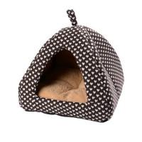 Dôme et maison pour chat et petit chien - Tipi Romance