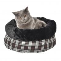 Panier pour chat et petit chien - Nid Tartan Bobby