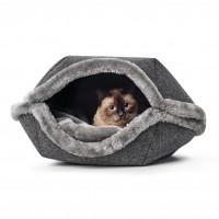 Dôme et maison pour chat et petit chien - Nid Lugano Hunter