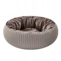 Dôme et maison pour chat et petit chien - Panier Cozy Pet Bed Curver