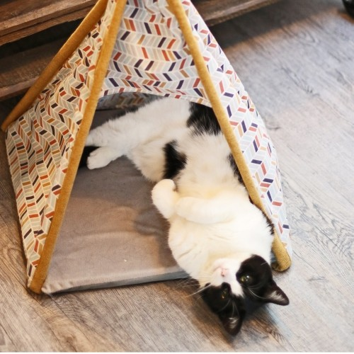 Couchage pour chat - Tipi Cancun pour chats