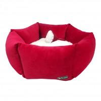 Corbeille / panier pour chien et chat - Panier Fleur Macaron TopZoo