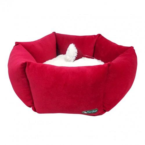 Couchage pour chien - Panier Fleur Macaron pour chiens