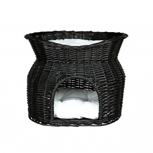 panier osier 2 en 1 panier pour chat et petit chien. Black Bedroom Furniture Sets. Home Design Ideas