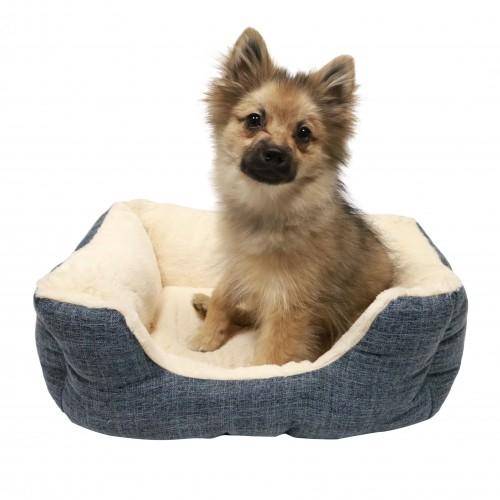 Couchage pour chien - Corbeille Blue pour chiens