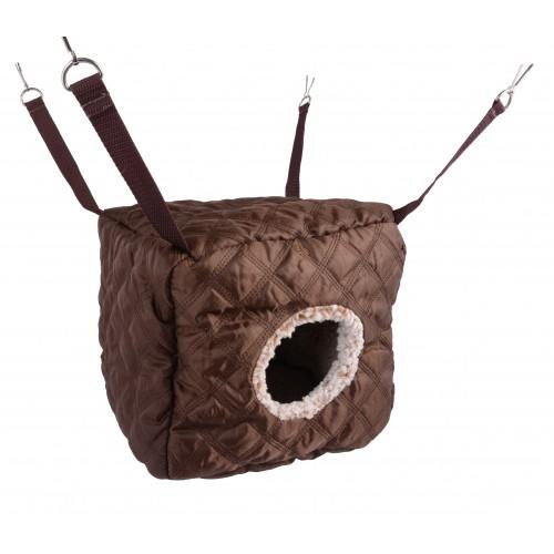 Couchage pour furet - Hamac Cube Leopardo pour furets