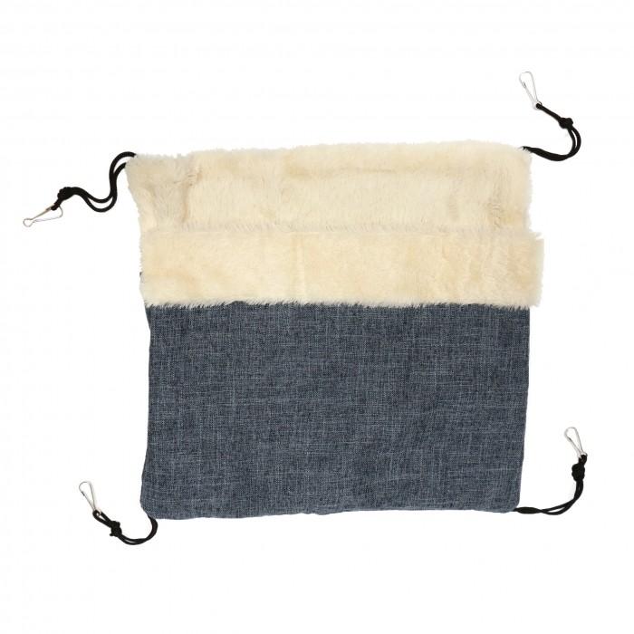 Couchage pour furet - Hamac cachette Blue pour furets