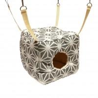 Hamac pour furet  - Cube Edelweiss Cream