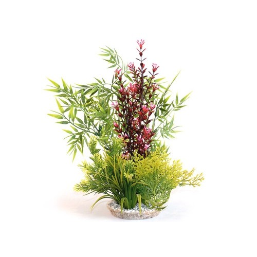 Plante artificielle calypso giant d coration pour for Plante bassin poisson