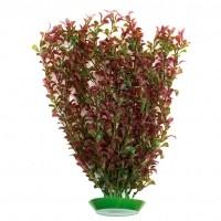 Décoration pour aquarium - Plante artificielle rouge Rosewood