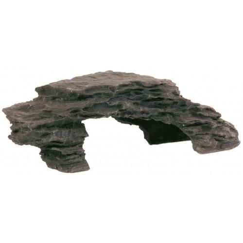 Décoration pour aquarium - Plateau de roches pour poissons