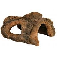 Décoration pour aquarium - Grotte souche d'arbre Trixie