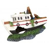 Décoration pour aquarium - Barque de pêche Trixie