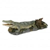 Décoration pour aquarium - Crocodile avec aération Trixie