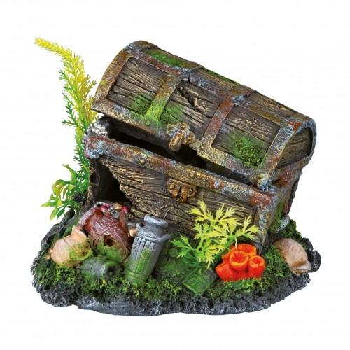 Décoration pour aquarium - Coffre au trésor pour poissons