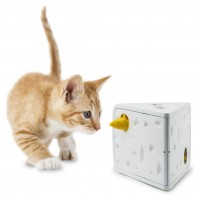 Jouet éducatif pour chat - Jeu casse-tête Cheese FroliCat FroliCat