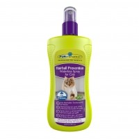 Shampooing sans rinçage pour chats - Shampooing sec Hairball Prevention FURminator