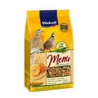 EXTERIEUR - Oiseaux des jardins - Menu Premium Tourterelles