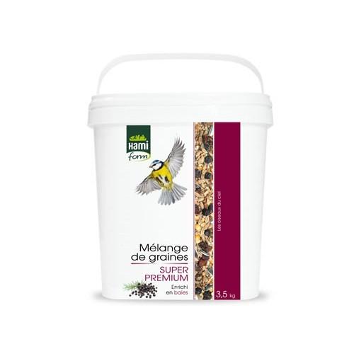 EXTERIEUR - Oiseaux des jardins - Mélange de graines Super Premium pour oiseaux