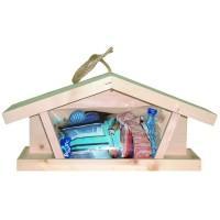 Mangeoire pour oiseaux des jardins - Mangeoire Tramontane Caillard