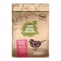 Aliment oiseaux du ciel - Mélange raisins & baies - Menu Nature Versele Laga