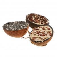 Friandises pour oiseaux - Enjoy Nature - Demi noix de coco Vadigran
