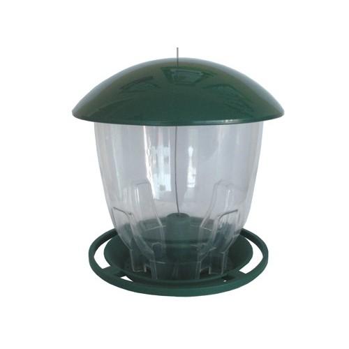 mangeoire plastique ronde mangeoire oiseaux des jardins plum wanimo. Black Bedroom Furniture Sets. Home Design Ideas
