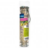 Distributeur de nourriture pour oiseaux des jardins - Distributeur + 5 boules de graisse Caillard