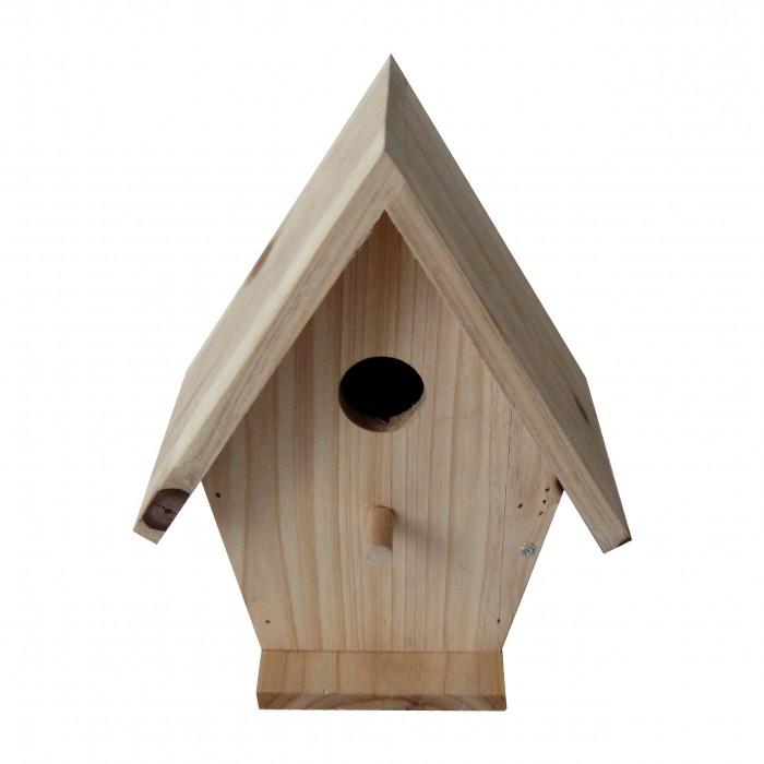 nichoir chalet nichoir pour oiseaux des jardins caillard wanimo. Black Bedroom Furniture Sets. Home Design Ideas
