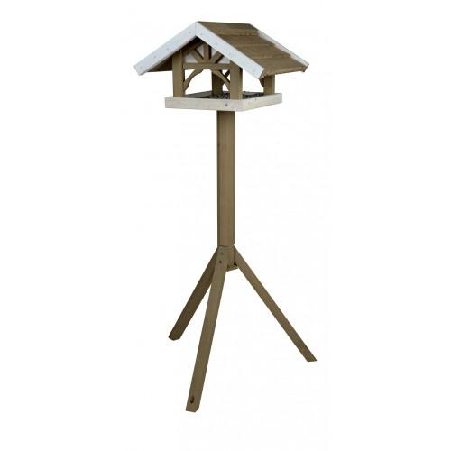 EXTERIEUR - Oiseaux des jardins - Mangeoire sur pied Eco pour oiseaux