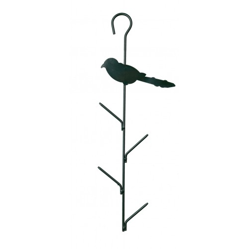 Support pour boules de graisse distributeur de - Oiseaux metal pour jardin ...