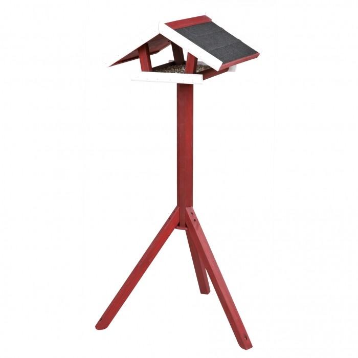 natura mangeoire avec pied mangeoire oiseaux des jardins trixie wanimo. Black Bedroom Furniture Sets. Home Design Ideas